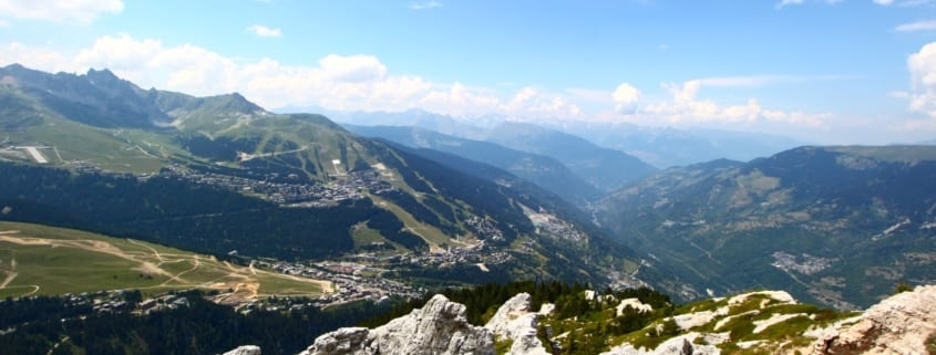 Courchevel in the summer
