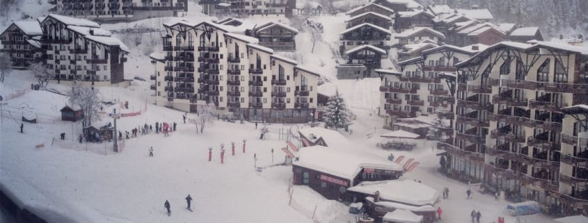 La Tania France Ski Resort