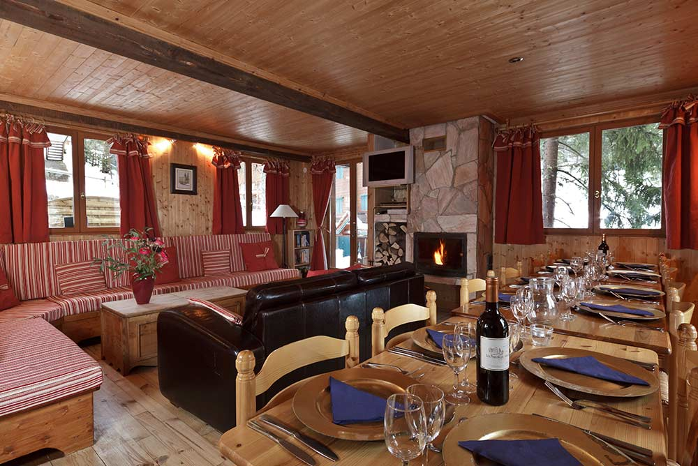Self Catered Chalets Courchevel