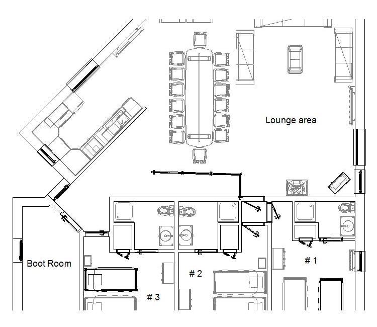 Delightful Ski Chalet Floor Plans Part - 6: FLOOR PLANS U2013 JAMAIS BLEU