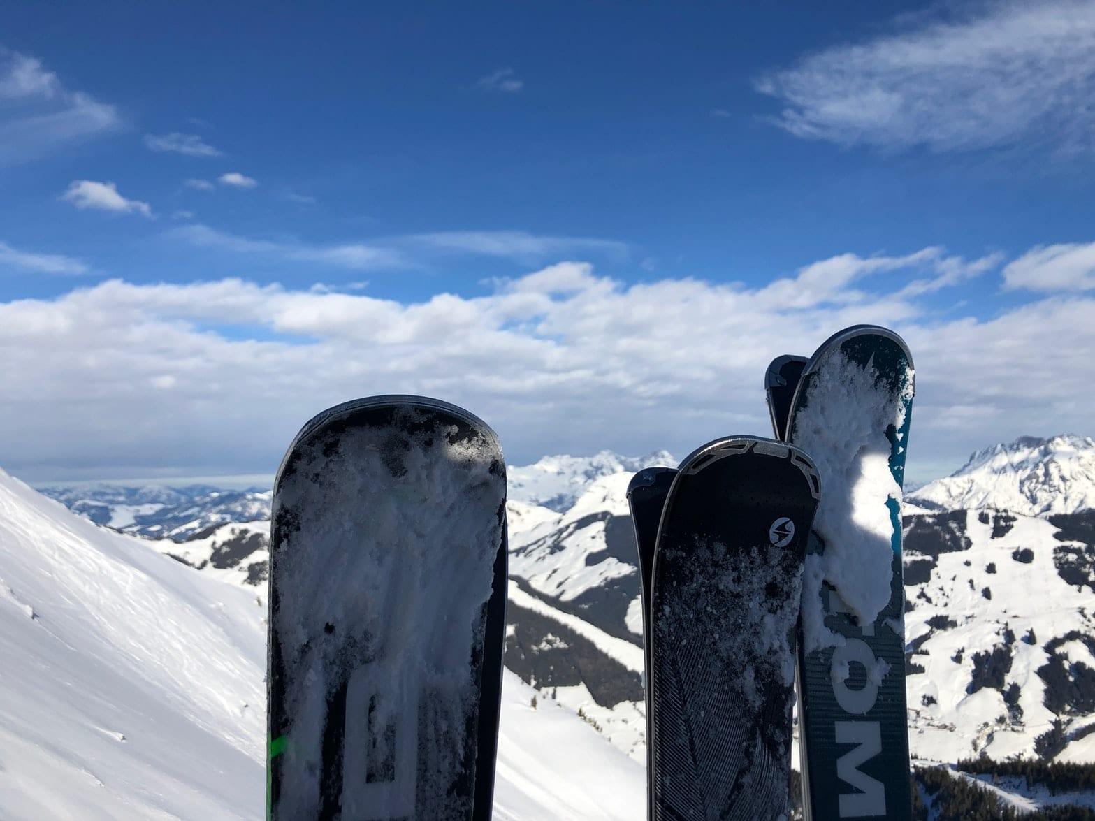 ski hire mountain view